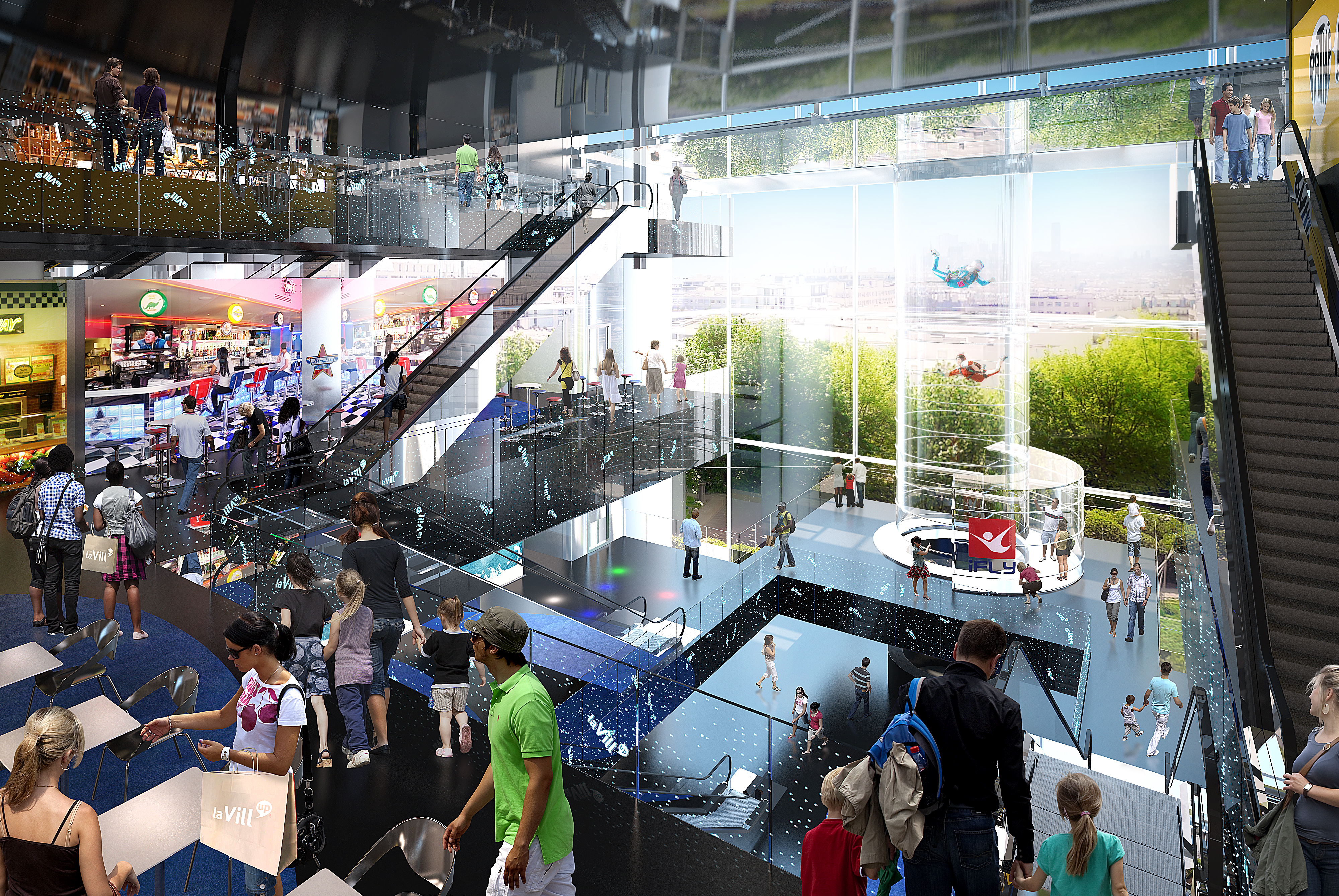 ifly-mall-concept